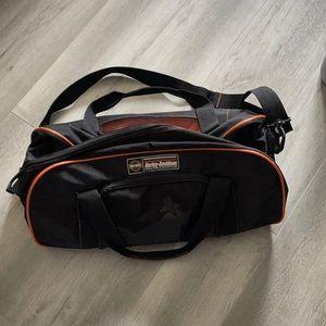Harley Davidson over shoulder duffle  bag carry on